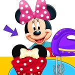 Free online html5 games - Minnie Mouse Cupcakes game