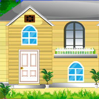 Free online flash games - AvmGames Modern Forest Bungalow Escape game2rule