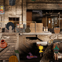 Free online flash games - Abandoned Room Hidden Objects game - WowEscape