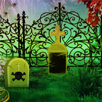 Free online flash games - 8BGames Halloween Garden Escape game - WowEscape