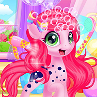 Free online flash games - Baby pony grooming makeov game - WowEscape