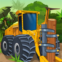 Free online flash games - Jungle Woods Cutter game - WowEscape