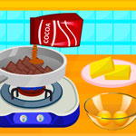 Free online flash games - Cooking Delicious Fudge Puddles Cake game - WowEscape