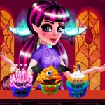 Free online flash games - Draculaura Cupcake Decoration game - WowEscape