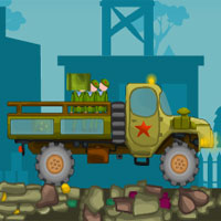 Free online flash games - Ragdoll Truck game - WowEscape